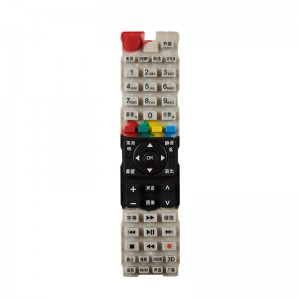 Silicone Keypad for Remote Control