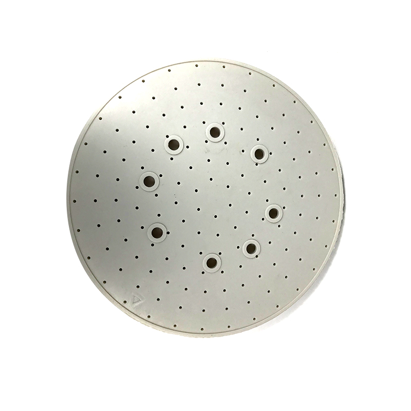 White Round Shower Silicone Gasket – Front Featured Image