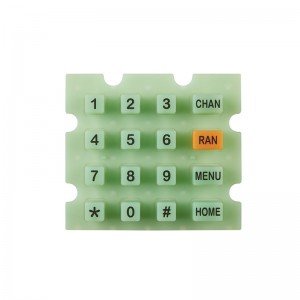 Matrix Conductive keypad