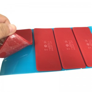 Red LSR Foot for Speaker with 3M Adhesive