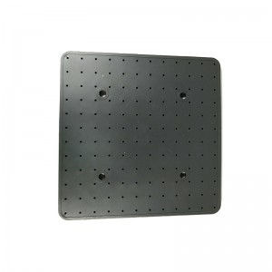 Dark-Grey Square Shower Silicone Gasket – front