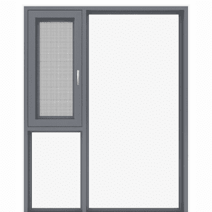 Aluminum doors and windows