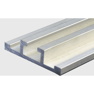 Conveying aluminum profile