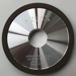 Best-Selling Recessed Grinding Wheel - Diamond grinding wheel for carbide/Round Edge Diamond Abrasive Grinding Wheel for Saw Blade Sharpening face 4b1 125x10x32x10x1 – Jingyunxiang