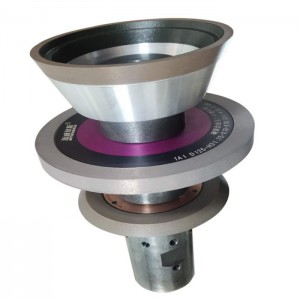 Hybrid bond grinding wheels for CNC HSS tool fl...