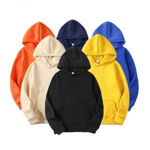 Men's Hoodies Spring Mens Fashion Casual Plain Pullover Sweatshirs Man Tops Streetwear Hoody Clothing Unisex