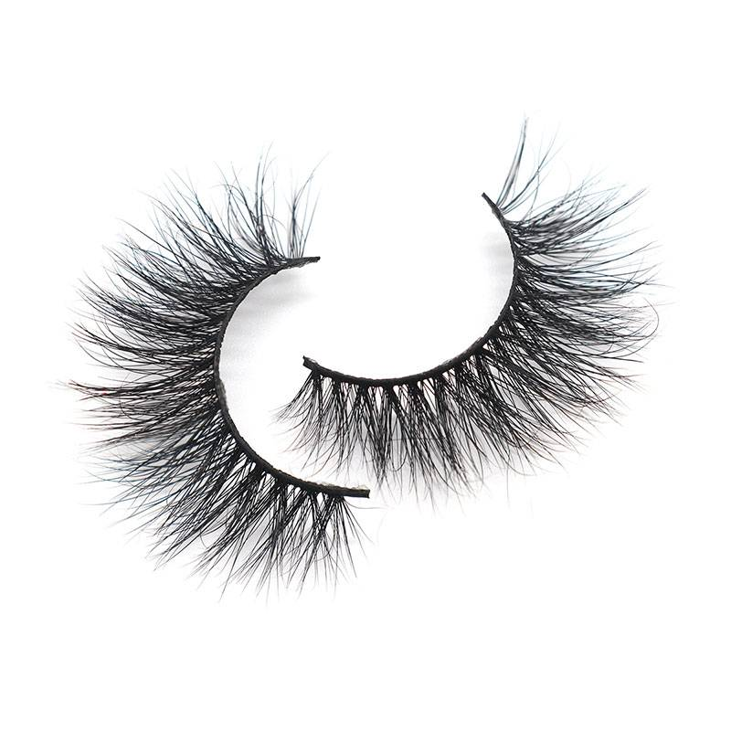 Top Quatity Handmade Factory Strip 3D 14mm Durable Wholesale Mink Lashes Featured Image