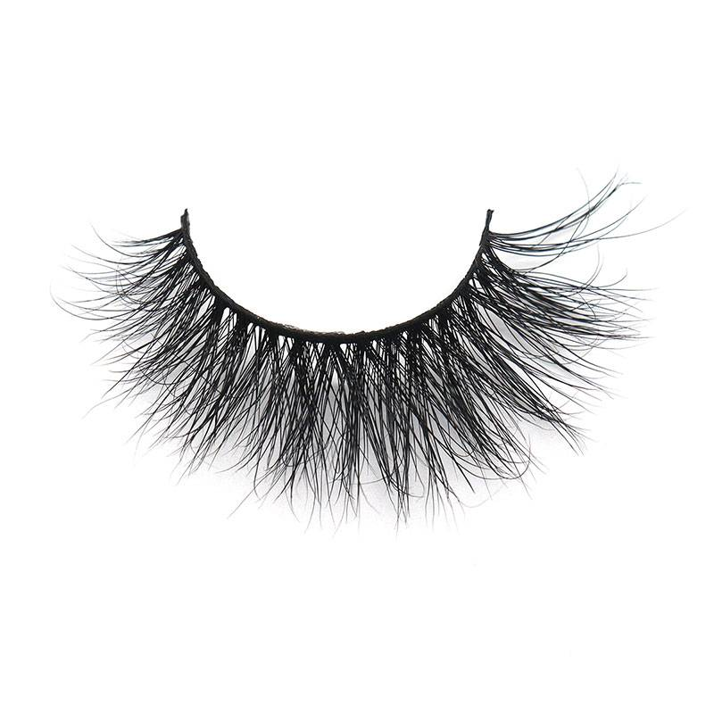 Top Quatity Handmade Factory Strip 3D 14mm Durable Wholesale Mink Lashes