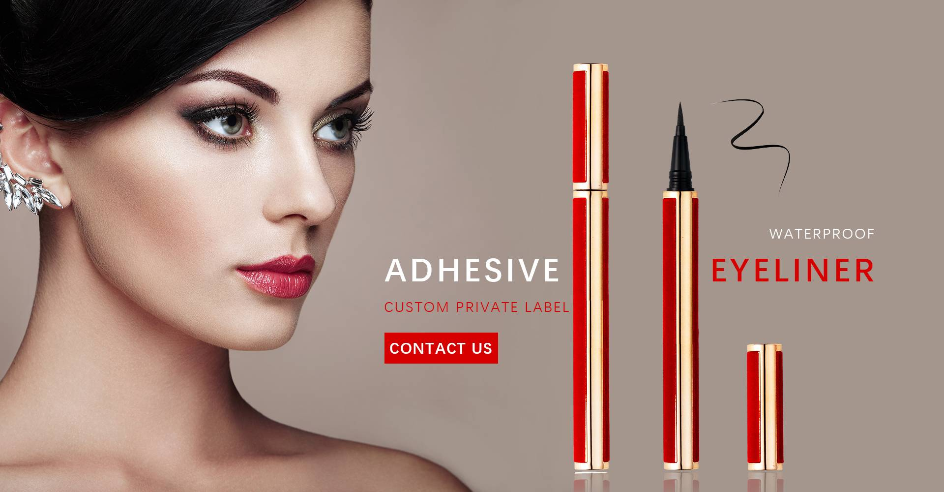 factory direct wholesale magic adhesive eyeliner pencil