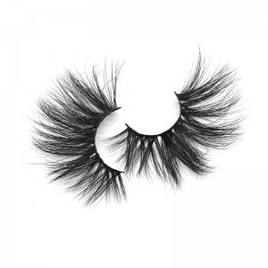 Super Charming 100% Hand Made 3D 25mm Color Mink Lashes False Eyelash