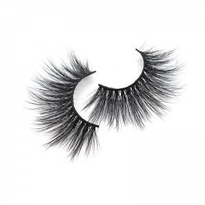 China Eyelash Manufacturer Bulk Fake Eyelashes Resuable Siberian Mink 3d Lashes