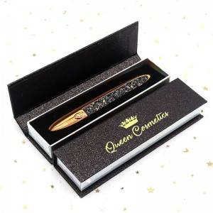 Wholesale Glitter Water Activated Magic Adhesive Eyeliner With Private Label Boxes