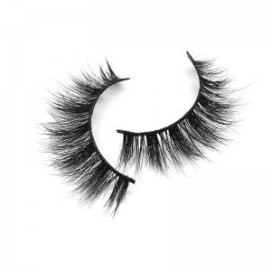 Bulk Easy To Apply Full Strip 3d 5d 100% Mink Lashes Vendors With Private Label Eyelash Box
