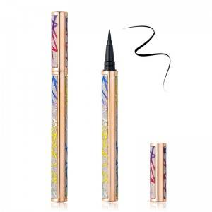 Custom Private Label Waterproof Eye Liner Glue Pen Adhesive Liquid Eyeliner Pencil