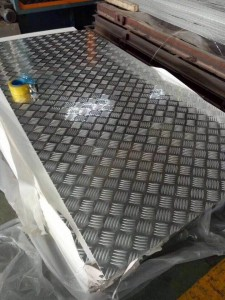 China Checkered Aluminum Sheets Supplier 5754 H114 ALUMINIUM CHEQUERED PLATE – Kaichuang