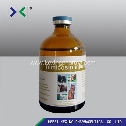 Animal Tilmicosin Injection 25%/30%