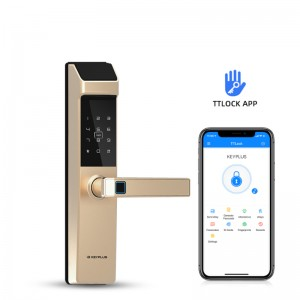 New Arrival N3T With TT Lock APP Bluetooth Control Fingerprint Locks Short