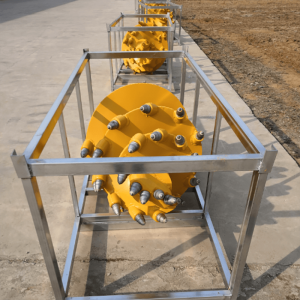 Conical rock auger