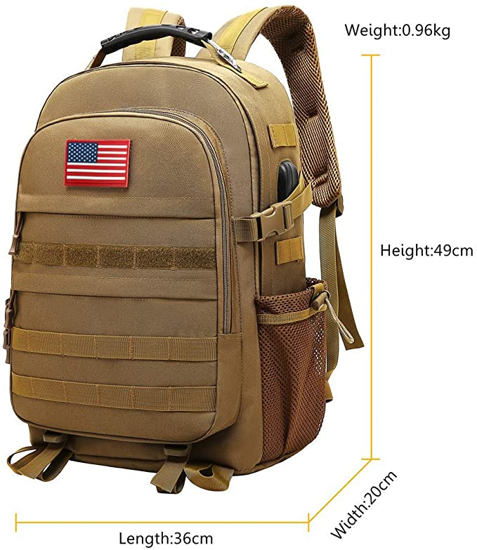 Military Tactical Backpack 40L Army Pack