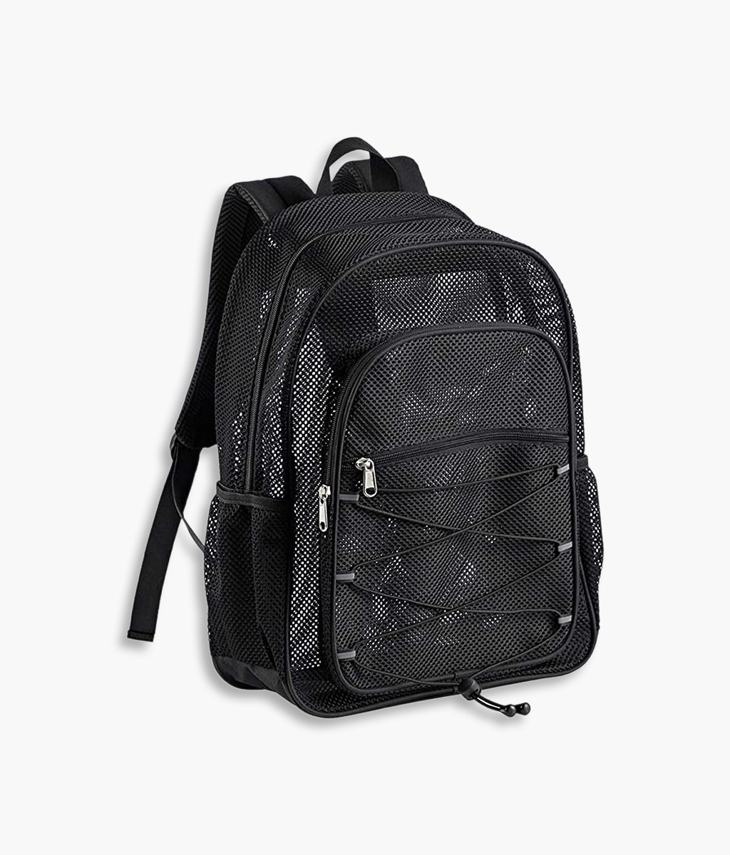 Sturdy Mesh Pack Backpack
