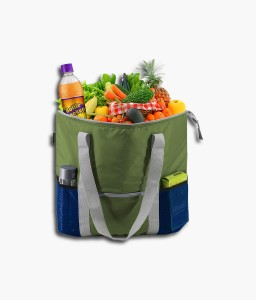 Grocery Food Delivery Extra Large Insulated Tote Thermal Wine Cooler Bag