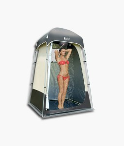 Aluminium Pole Privacy Waterproof Shower Tent Camping Changing Room Toilet Shelter