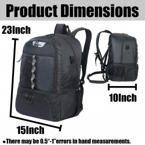 Custom Large Capacity Hockey Equipment Backpack