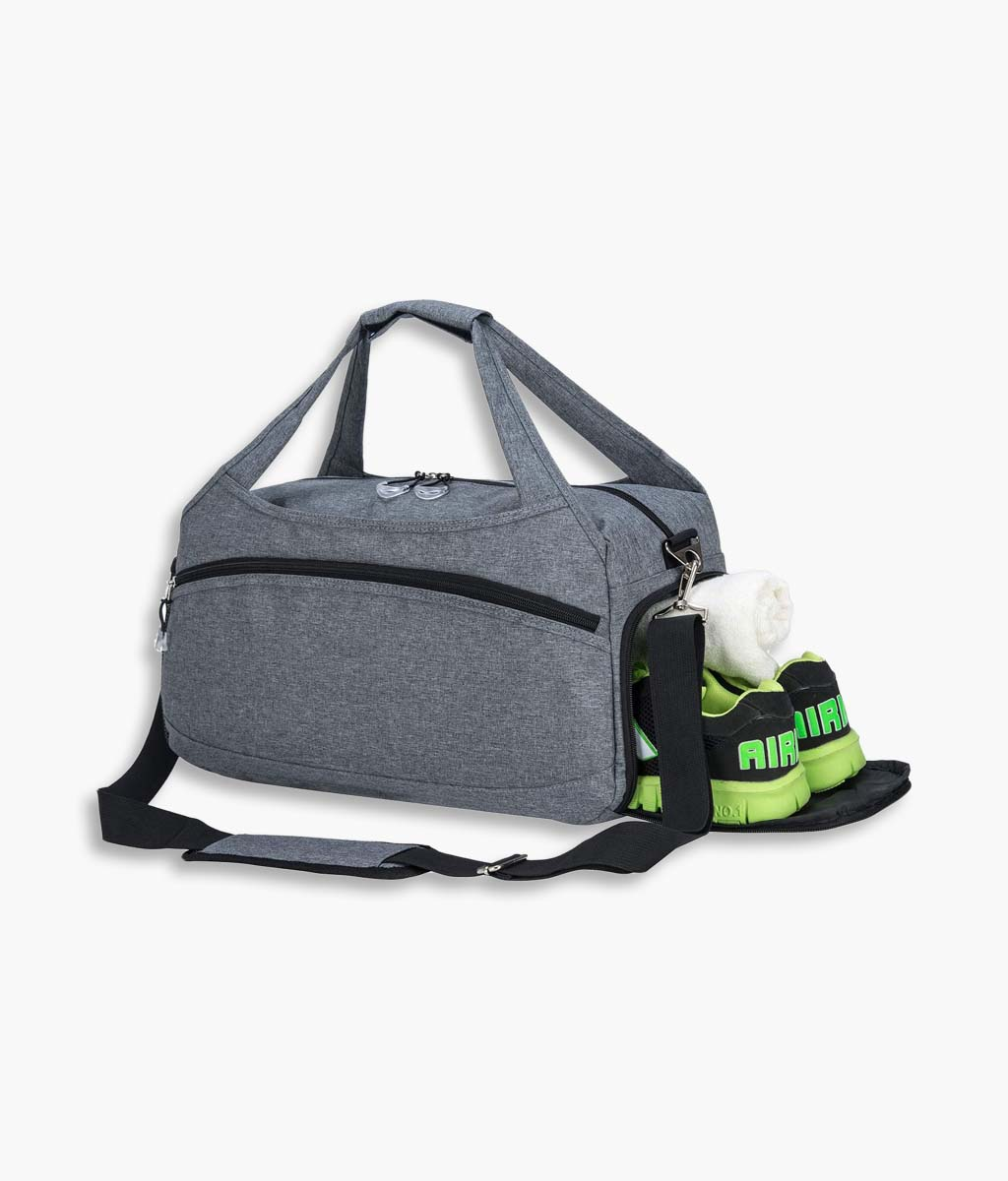 Sports Travel Duffel Bag with Shoes Pocket