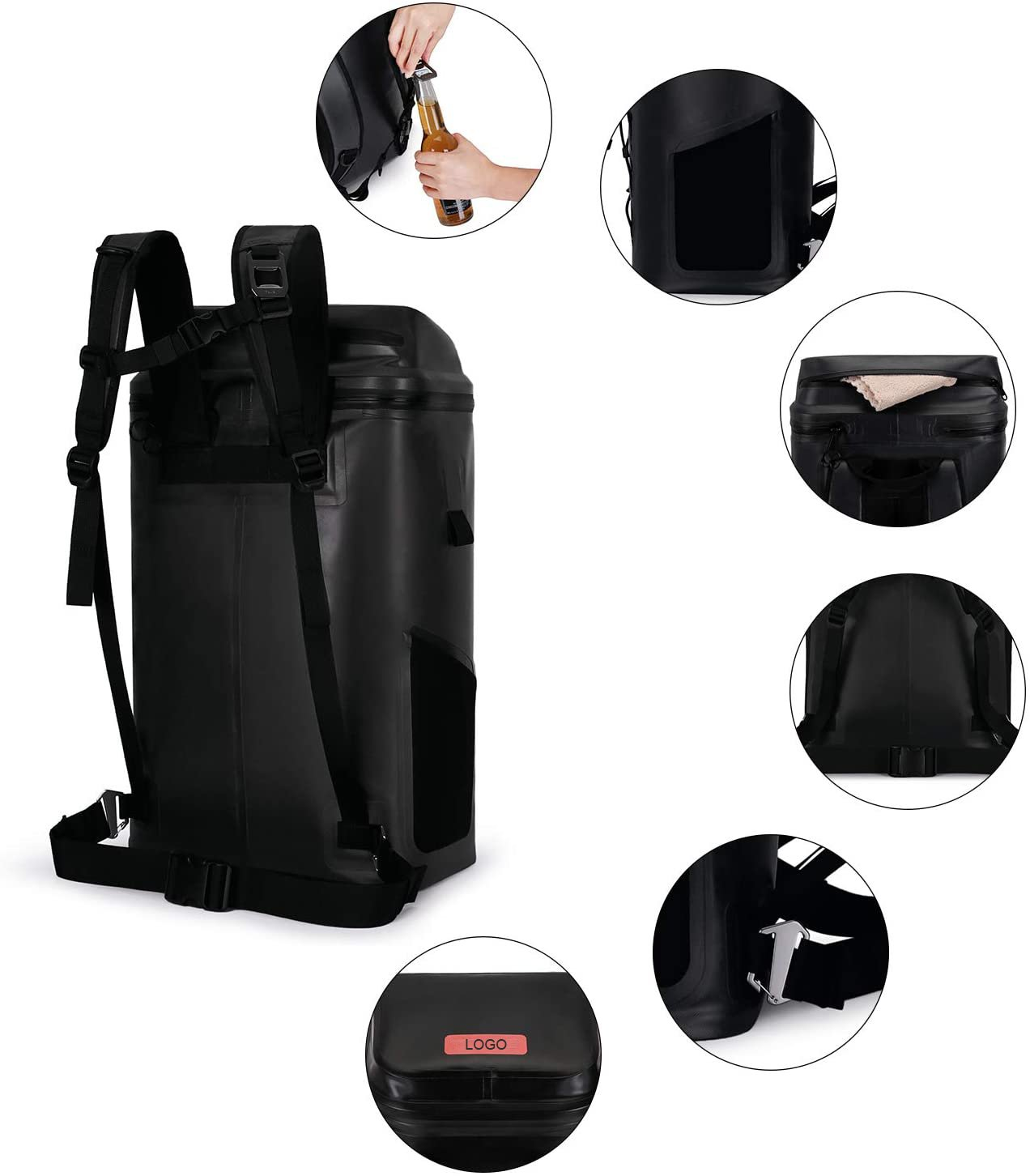Cooler Backpack Waterproof Insulated Leak-proof
