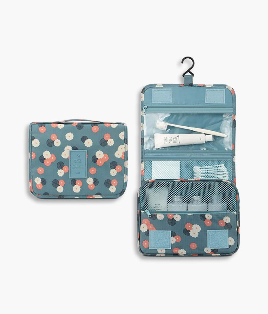 Hanging Toiletry Bag Cosmetic Makeup Travel Organizer