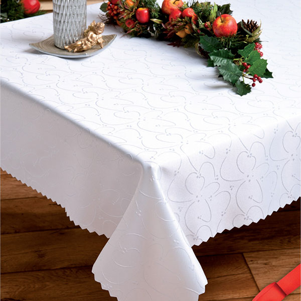 Square waterproof jacquard table cloth.Table Cloth  990