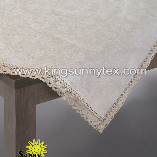 Lace Printing Tablecloth For Dinner
