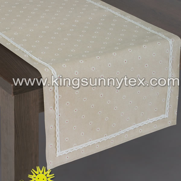 Lace Printing Table Cover For Home Application Featured Image