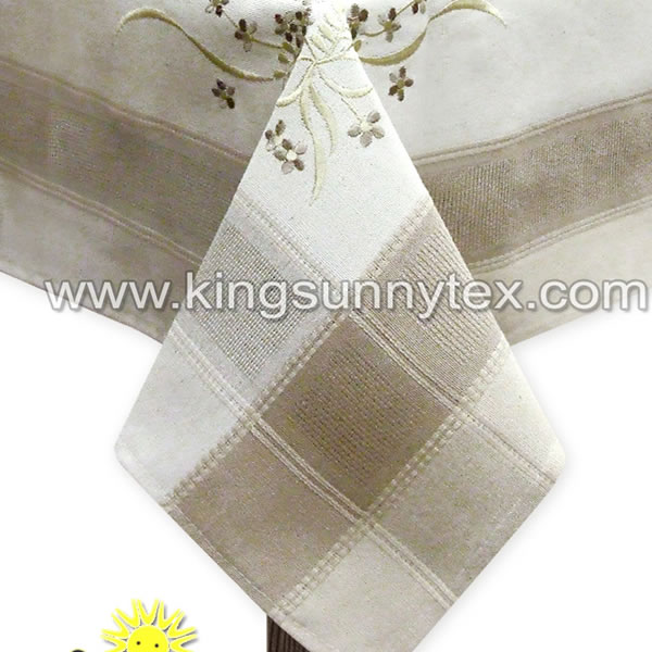 Beautiful Embroidered Table Cloth
