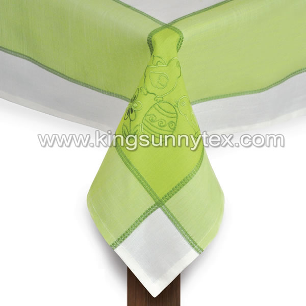 Green Chick Embroidery Decoration For Easter