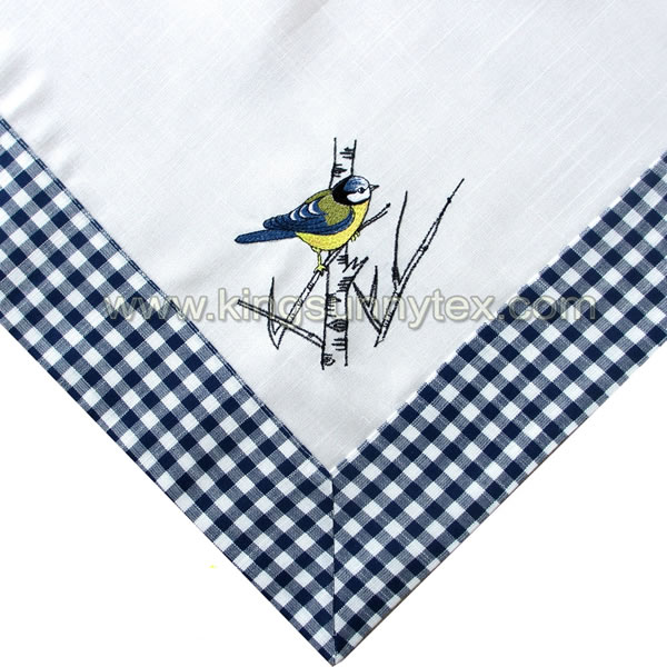 Embroider Table Cloth For Picnic