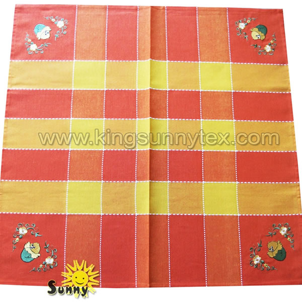Happy Easter Tablecloth Decoration Design-2