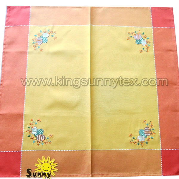 Happy Easter Tablecloth Decoration Design-4