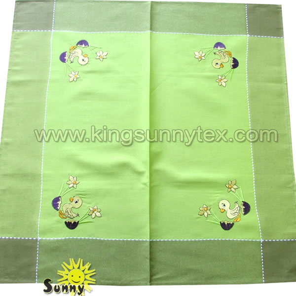 Happy Easter Tablecloth Decoration Design-5