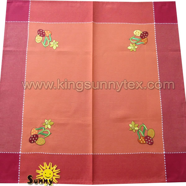 Happy Easter Tablecloth Decoration Design-6