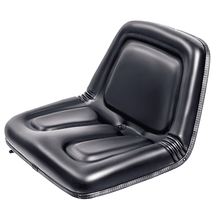 YY05 High Back Lawn and Garden Tractor Seat Black Polyurethane