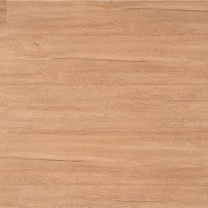Waterproof durable Interlock click embossed surface luxury spc vinyl flooring cork back