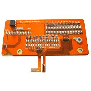 6 layer impedance control rigid-flex board with stiffener