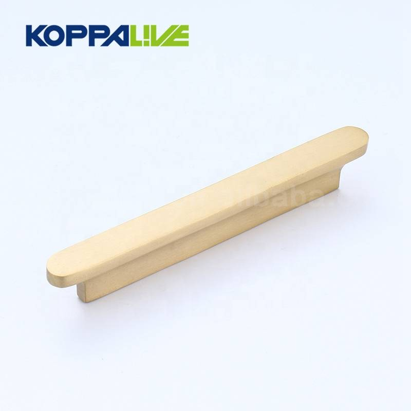 Hot Sale Top Quality Oval Solid Brass Bedroom Cupboard Furniture Kitchen Cabinet Drawer Pull Handle