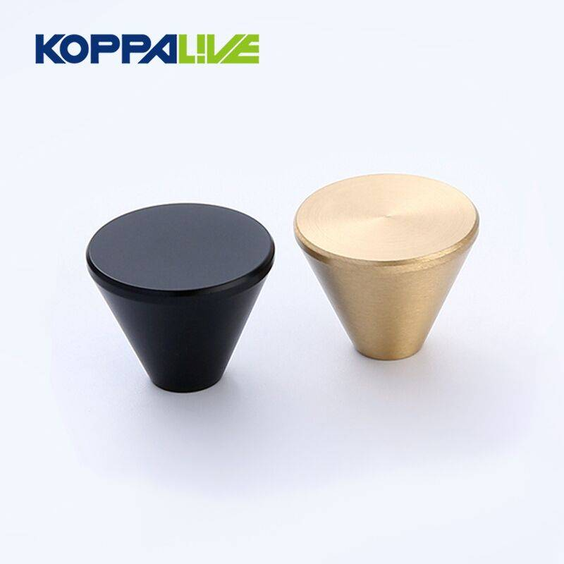 China manufacture furniture brass custom electroplating cabinet pull knob