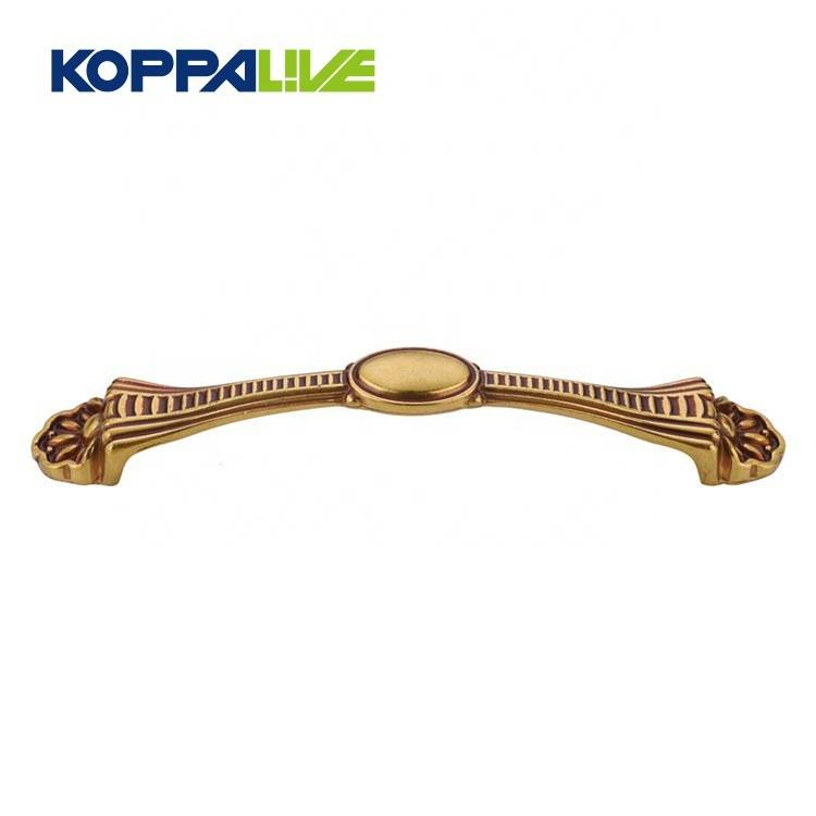 Best selling brass bedroom furniture hardware accessories fancy lightweight cabinet drawer pull handle