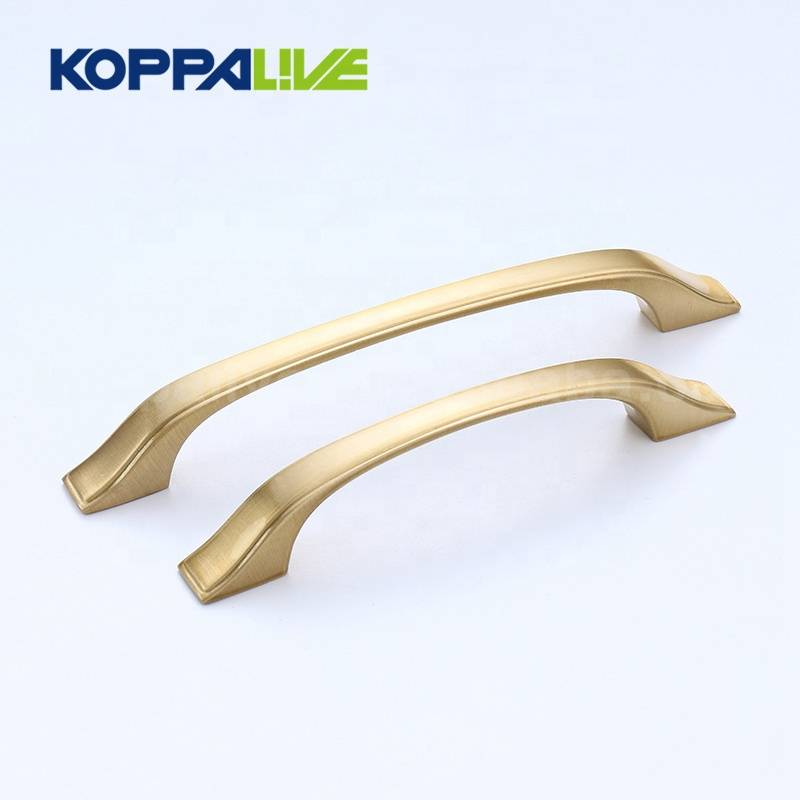 KOPPALIVE Custom Furniture Hardware Solid Brass Good Kitchen Cabinet Cupboard Drawer Pulls Handle Featured Image