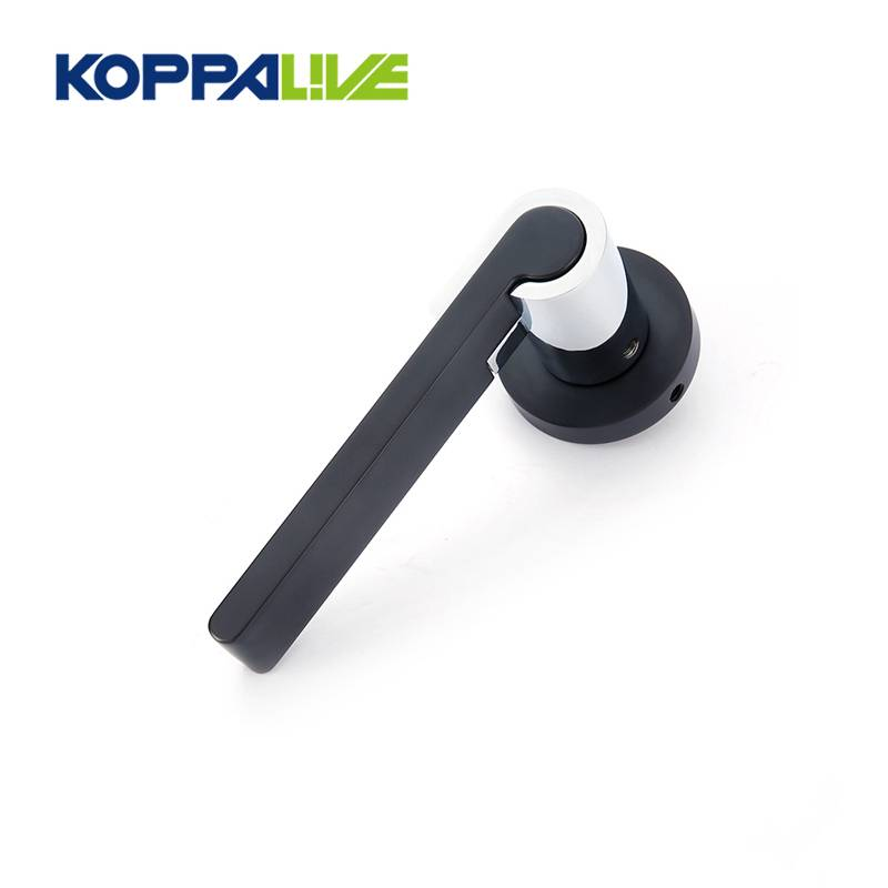 KOPPALIVE hot sale modern design zinc alloy door lever handle for interior door