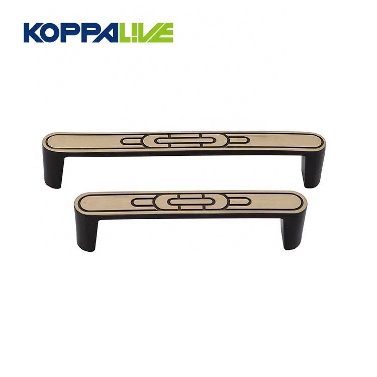 Promotion simple style brass cupboard push pulls bedroom furniture cabinet hardware pull handle