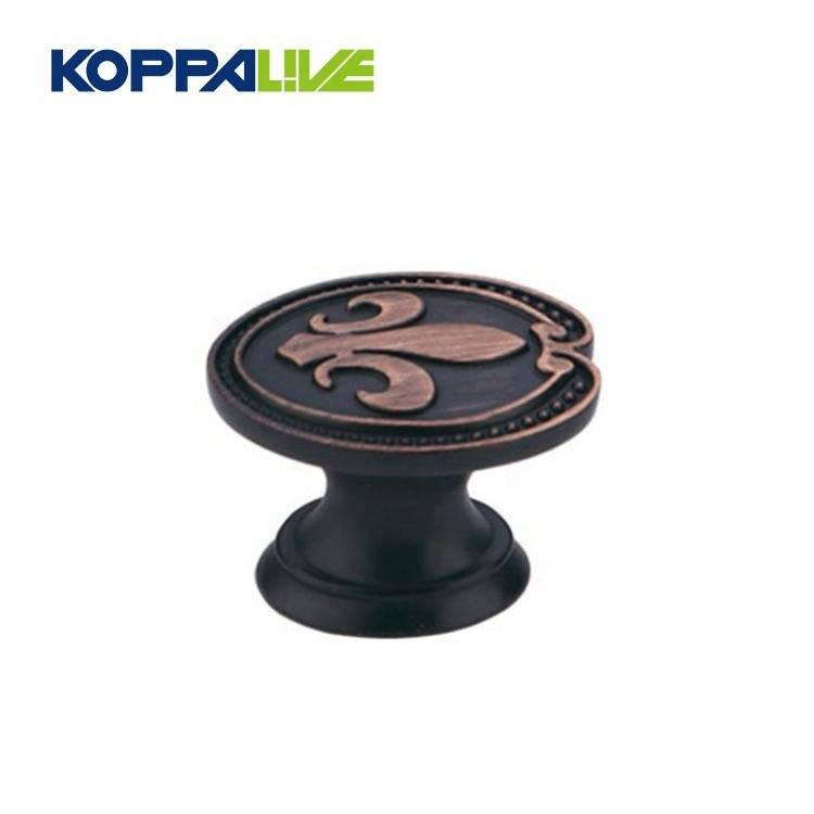Hardware bedroom furniture accessories classical cabinet drawers closet mushroom round pull knob